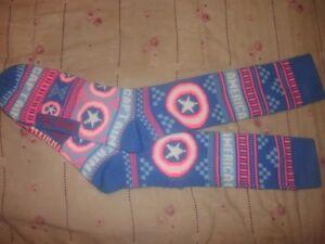 NEW SUPERMAN DC Comics Sweater Long Tube Boot Socks Winter Thermal-OSFM B25