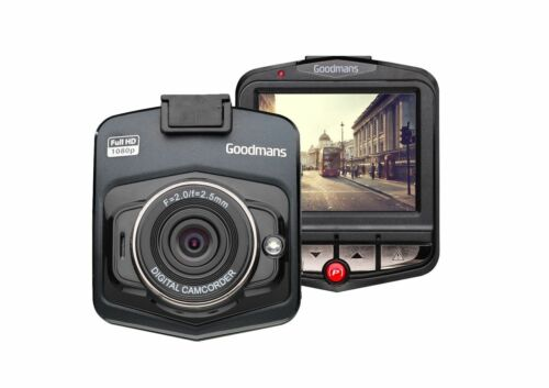 Goodmans GSCOUTHD Full HD Dash Cam Camera with GPS Tracking