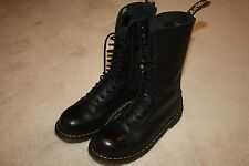 Dr Marten black 14 hole boots - Mens 9