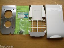 CARAVAN-Truma Ultrastore Water Heater Flue Grill & Cover Kit KB3 White -70300-02