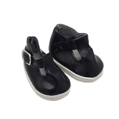 Jouet Poupée Chaussure de jouet Poupée Chaussures de sport Cuir polyuréthanne