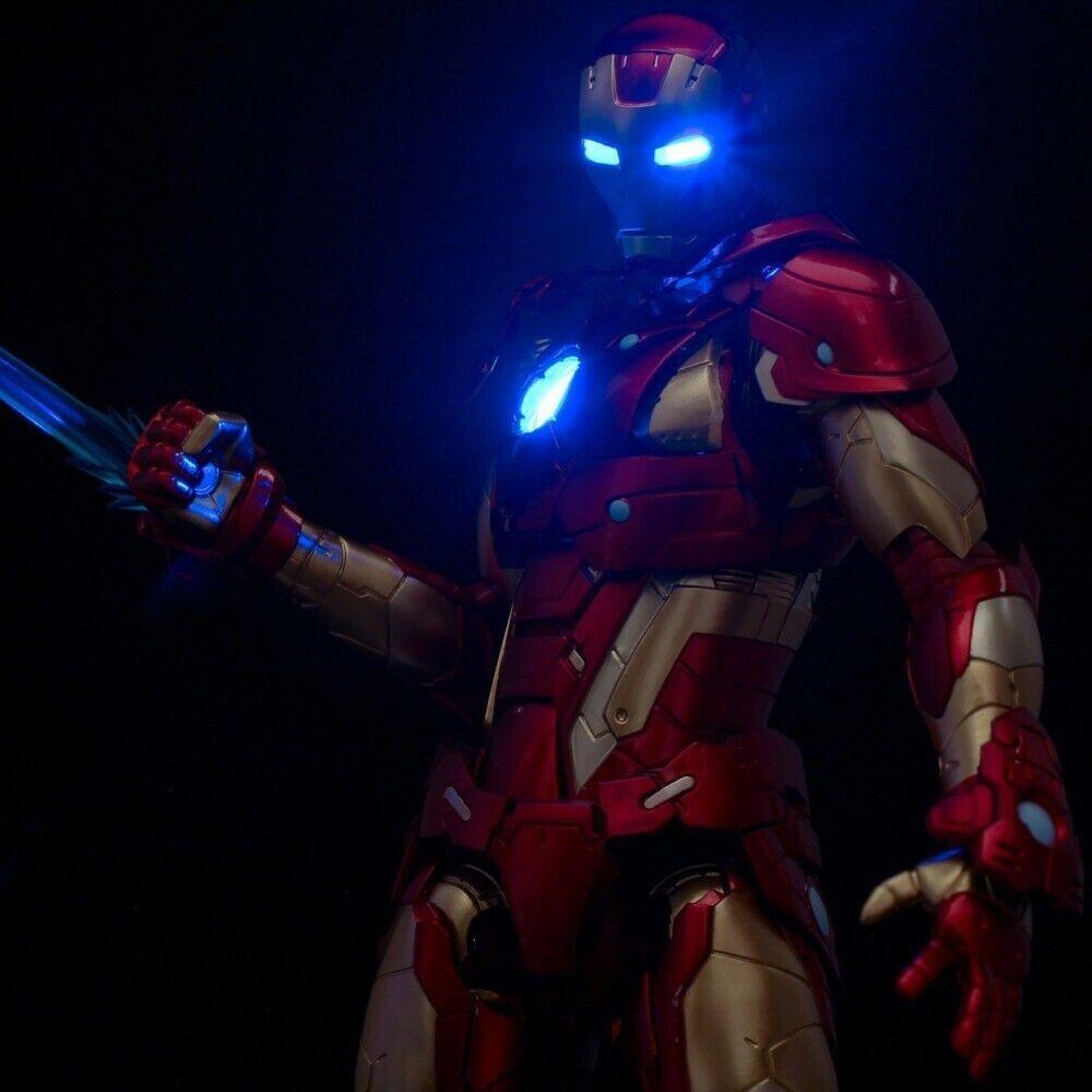 RE  MODIFICA IRON uomo  01 Bleeding Edge Armor azione cifra Marvel Sentinel