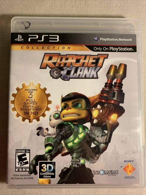 Ratchet & Clank Collection Sony Playstation 3 PS3 Video Game