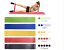 Bandas-de-Resistencia-Conjunto-de-5-Bandas-de-Ejercicio-Gimnasio-Yoga-Fitness miniatura 1