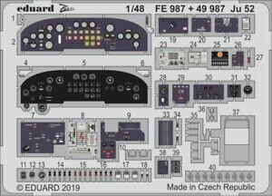 Edmex070 148 523m Ju 52//3m Revell Kit Eduard Masks 1:48