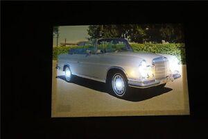 Mercedes-Benz-Cabrio-Grey-Oldtimer-LED-Leucht-bild-Beleuchtung-Wohnzimmer-0-9