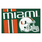 Fanmat 18757 University of Miami Uniform Inspired Starter Mat