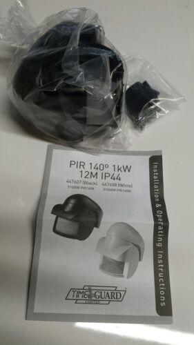 140 Degree 1000 W-Noir TimeGuard S1000B PIR Capteur éclairage