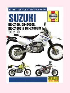 man2933 haynes workshop manual suzuki drz drz400 dr z400 dr z400s e rh ebay co uk suzuki drz400s owners manual pdf suzuki drz400s owners manual