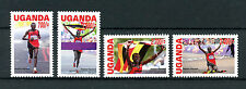 Uganda 2013 MNH London 2012 Olympics Gold Medal Stephen Kiprotich 4v Set Stamps