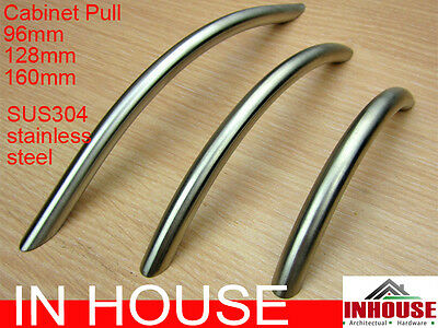 1xCabinet Pull, SUS304 Stainless Steel, size:96mm,128mm,160mm