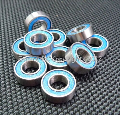 Tamiya 1260 Gummi Verpackt Kugellager 5 Teile Blau 6x12x4 MR126-2RS 6 12 4