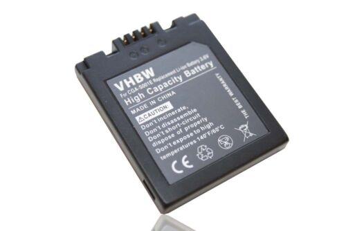 Original VHBW ® BATERIA para Panasonic cga-s001 s-001 CGAS 001 bca7