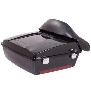 black tour pak trunk pack for harley davidson touring electra