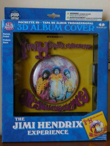 The JIMI HENDRIX EXPERIENCE Immagine Poster 3D ALBUM COVER figure McFarlane  NEC