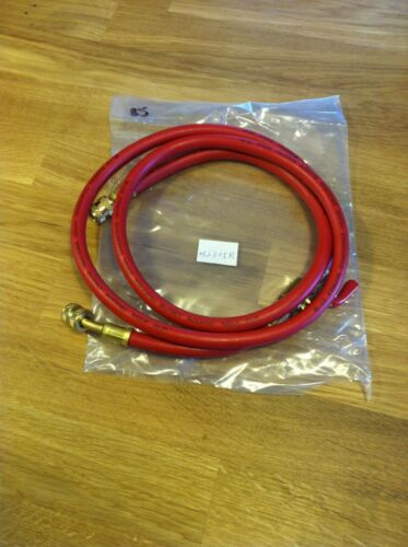 """60/"""" R-12 Red Charging Hose With Shut-off Valve"""
