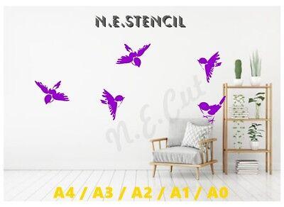 Beautiful Stag Highlights Stencil A4//A3//A2//A1//A0 350 micron STAG020