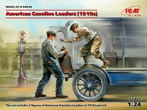 ICM-24018-1-35-American-Gasoline-Loaders-1910s-2-Figures-scale-model-kit