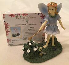 DEZINE ~ The Fairy Collection ~ A MAGIC WAND ~ #5854 ~ Ltd Ed Figurine w COA