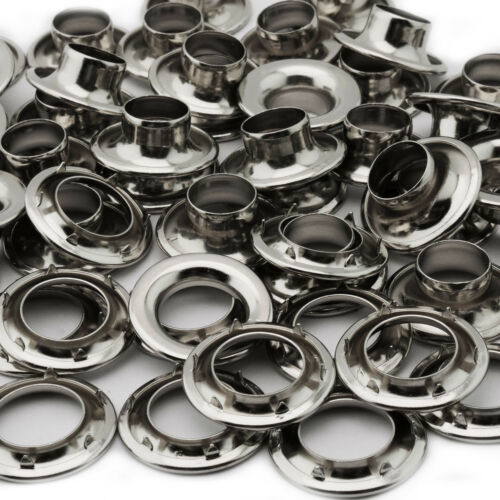Osborne Nickel Plated Grommets /& Spur Washers #N2-2 C.S Size 2 144 Sets