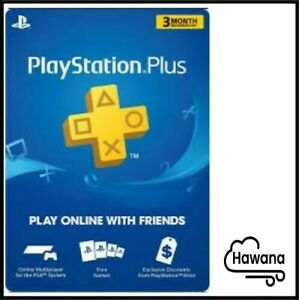 Sony PlayStation PS Plus PSN 3-Month / 90 Days Membership Subscription – USA