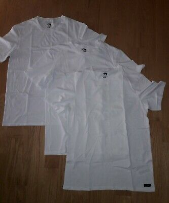 Ted Baker Mens V-Neck Stretch Cotton Tshirts 3 Pack
