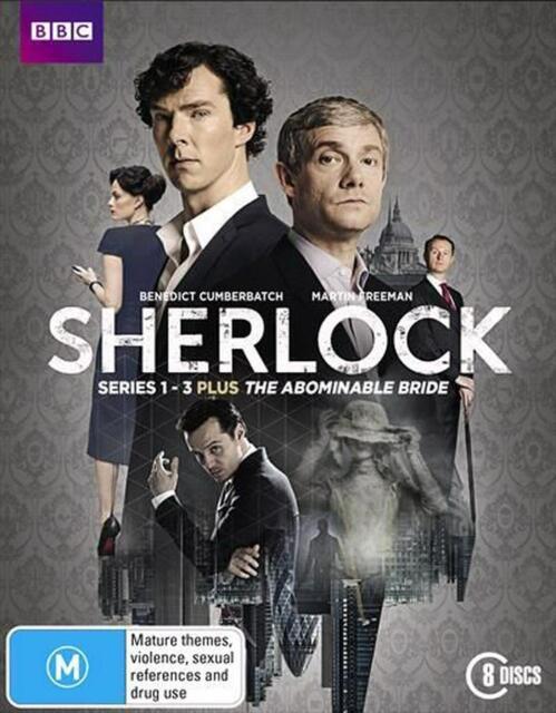 Sherlock Holmes - Series 1 - 3 + Abominable Bride [Blu-ray] 8 Discs NEW