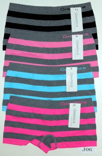 Slips Femmes Boxer Shorts Sport Microfibre Taille 2*3*4*er M; L; XL = 40//42; 44//46; 48//50
