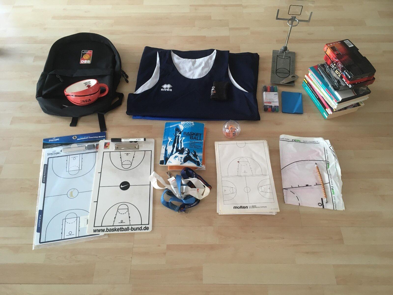 Basketball Trainer Set - - - 2 Taktikboards, Stifte, Bücher, Videos uvm. Spalding... 156cdc