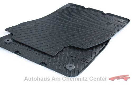 NEU Original Audi Gummi Fußmatten A6 Limousine Avant Allroad Quattro S6 4F vorn