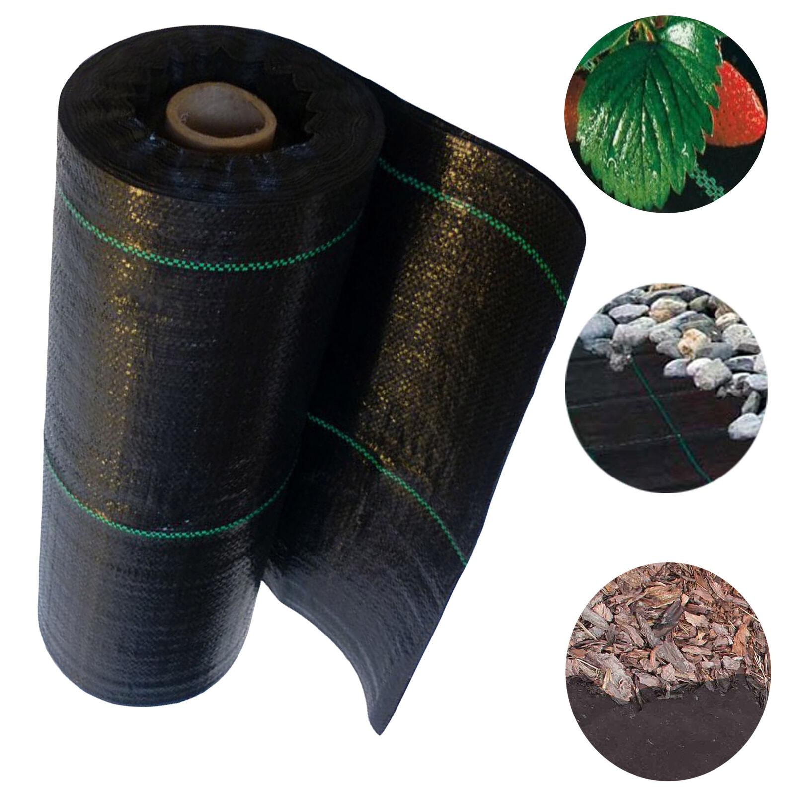 Malla antihierbas malla antihierbas tela suelo projo malas hierbas 90g 0,6m x 100m negro