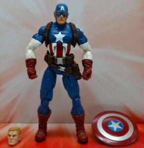 Marvel Legends Infinite Series Captain America action figure Target exclusive