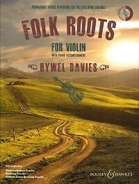 GéNéReuse Folk Roots Pour Violon Davies Livre & Cd-afficher Le Titre D'origine Larges VariéTéS