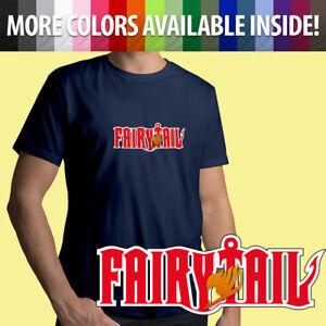 4b990c7e Fairy Tail Anime Manga Title Guild Natsu Lucy Unisex Mens Tee Crew ...