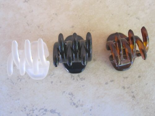 """2 each 3//4/"""" Tuck Claw Clip Made in France High Quality Made to Last New #71252"""