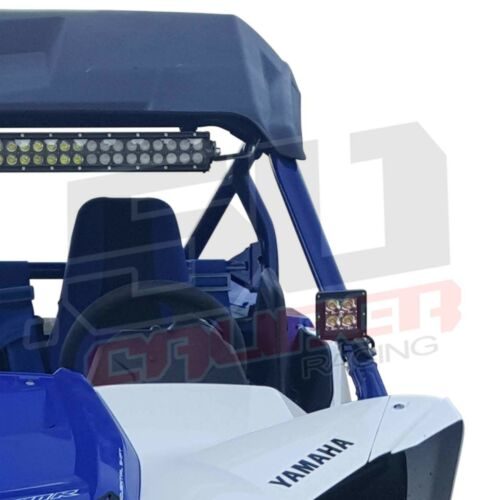Yamaha YXZ1000R LED Spot 2016-Up Windshield A-Pillar Pod Light Mount Brackets
