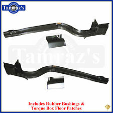 65-68 Mustang Rear Frame Rail Support Complete w/ Bushing & Torque Box Patch PR