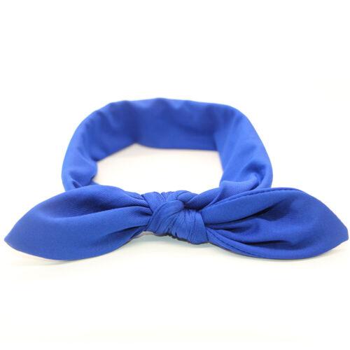 Bowknot Elastic Headband Cross Knot Hairband Turban Headwrap Bandana Headwear