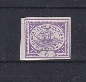 1860 thin paper,steamship stamp Rare! b1066