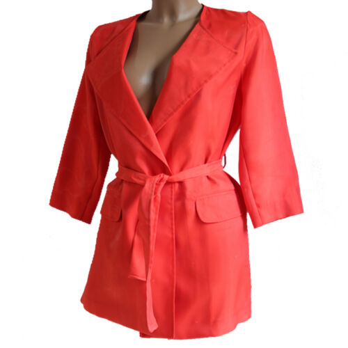Coral 44 Made Jacket Femme Italy Red Trend Dust Trend Taille Sa8pq