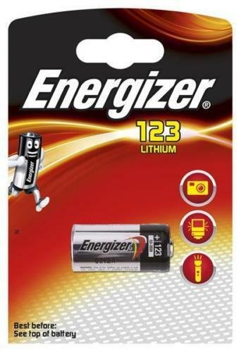 Energizer Lithium Photo CR123A DL123A CR17345 1er Blister MHD 12 2027 | Komfort