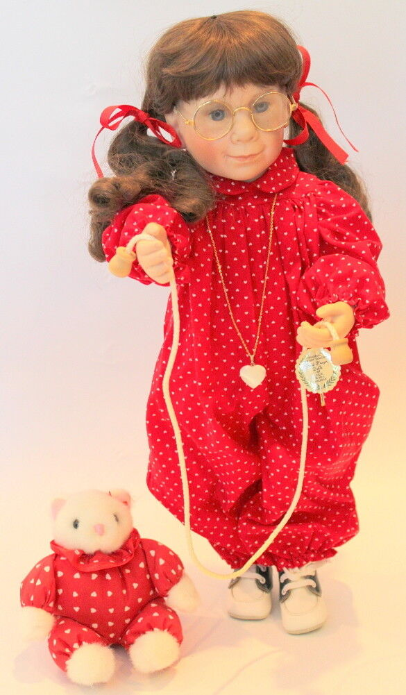 Julie Good Kruger Doll in original Box 21  Cassidy Red Romper