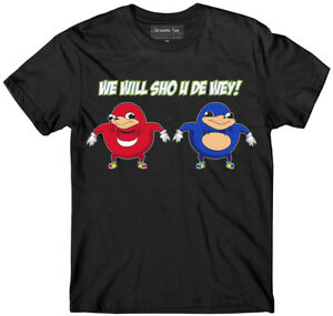 Ugandan-Knuckles-t-shirt-Team-Knuckles-gang-meme-Do-you-know-the-way-t-shirt