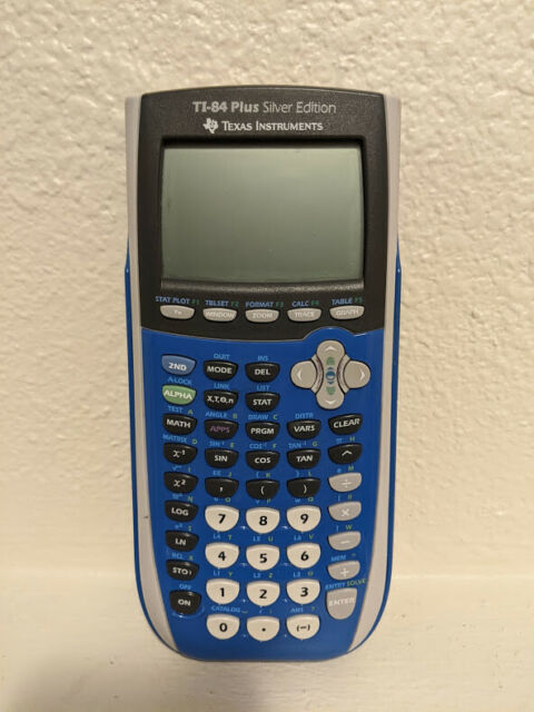Texas Instruments TI-84 Plus All Purpose Graphing Calculator Blue