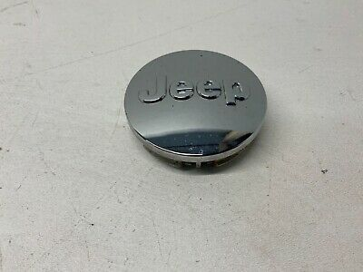 JEEP 1LB77TRMAC Factory OEM Chrome Wheel Center Rim Cap Cover Lug Hub Lot 2Q