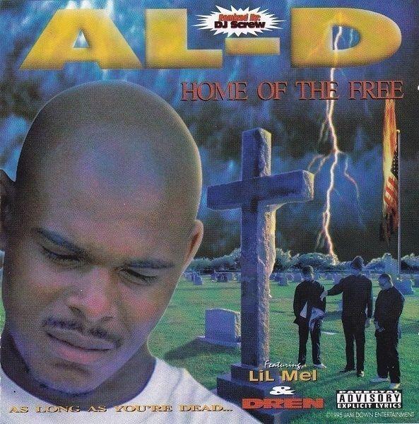 AL-D-Heimat der freien CD versiegelt neu/seltene Ausgabe Remixed von DJ Screw