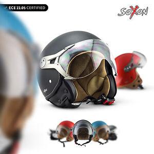 SOXON-SP-325-MONO-OPEN-FACE-HELMET-MOTORCYCLE-JET-MOTORBIKE-SCOOTER-XS-XL