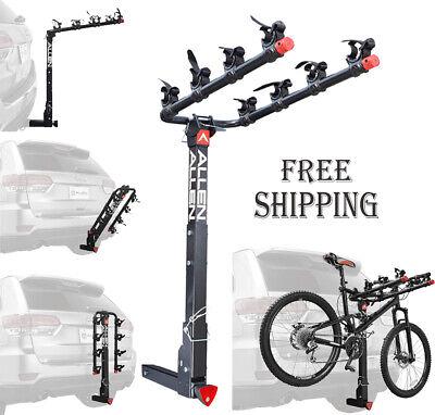 Deluxe Locking Allen Sports 4-Bike Hitch Racks