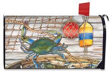 Crab Splash Door Magnet Welcome Summer Mailbox