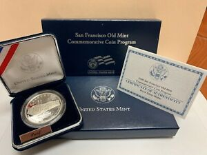 2006 Old Mint Commemorative Uncirculated Silver Dollar with Box /& COA